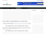 list of Top 10 Best Trading Platform In India 2021