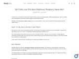Get 3 Layered Memory Foam Mattress and Benefits Of Orthopedic Mattress in Best Price.