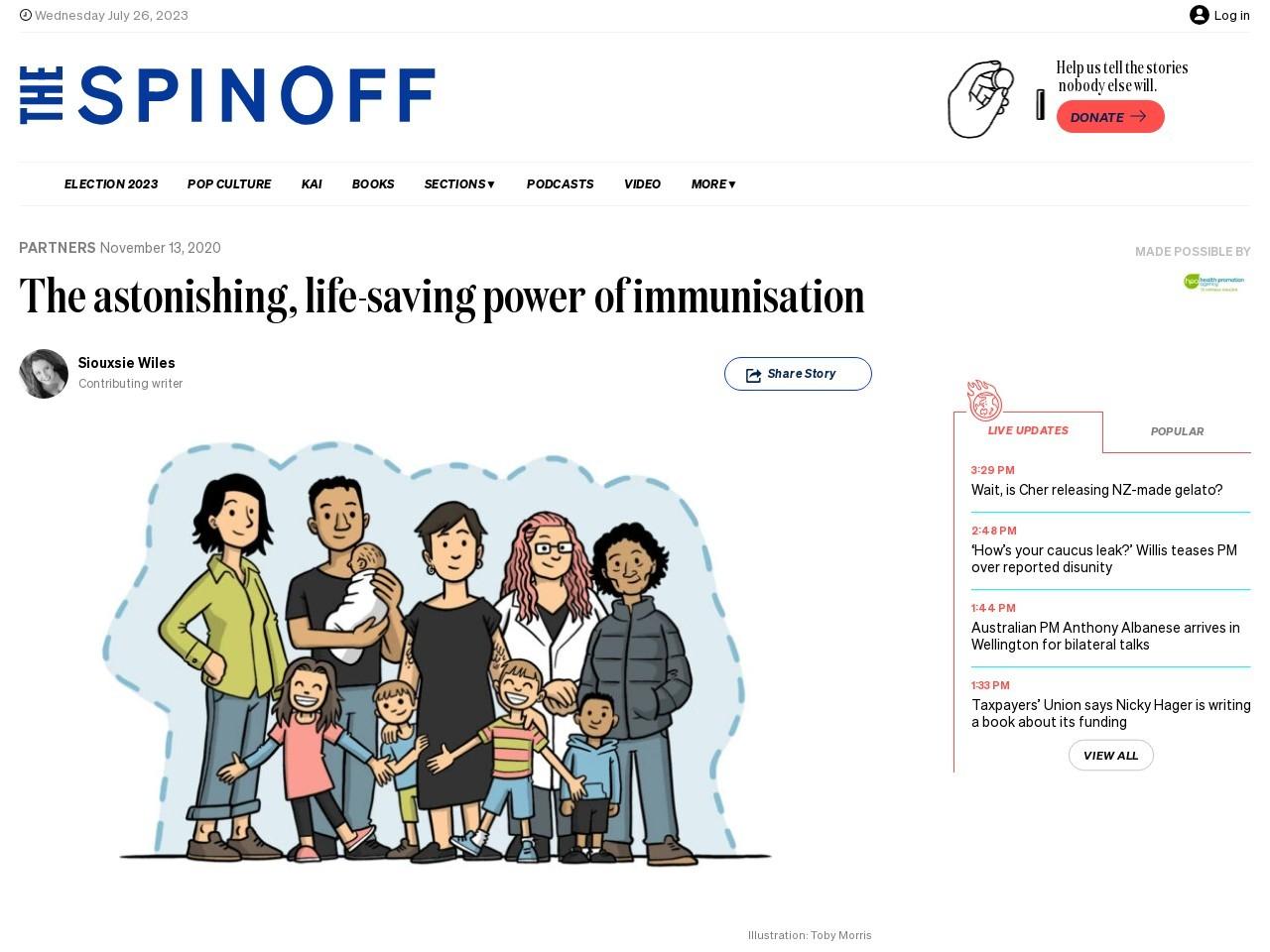 The astonishing, life-saving power of immunisation