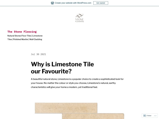 Why is Limestone Tile our Favourite?