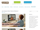 Are Private Online Tuitions Effective?