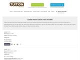 Home Tutor Jobs in Delhi – TheTuitionTeacher.com