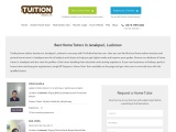 Home Tutors Janakpuri,Lucknow – TheTuitionTeacher.com