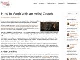 Artist Coach – TheWorkingArtist