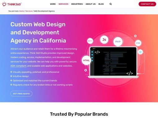 Think 360 Studio | Award-Winning Web Development Agency in India