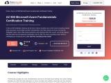 learn no#1 microsoft azure fundamentals  online training