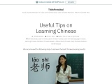 Useful Tips on Learning Chinese