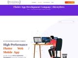 Flutter App Development Service Provider Company | thirstyDevs Infotech