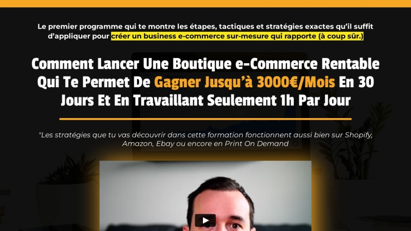 plan action ecommerce