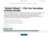 Bright Minds – The New Invention of Brain Health