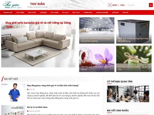 Website updated news Vietnam synthesis