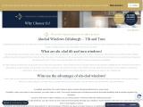 Top-class aluclad windows in Edinburgh