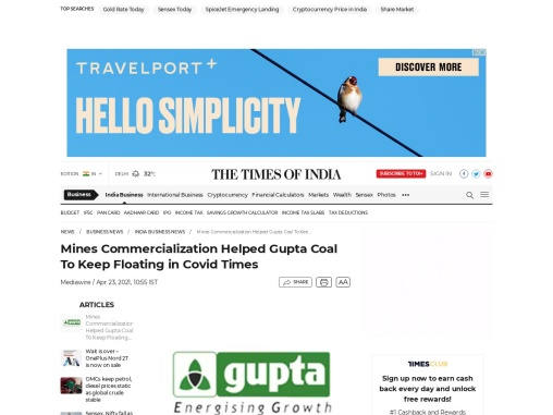 Gupta Coal & Gupta Coal India | Mine