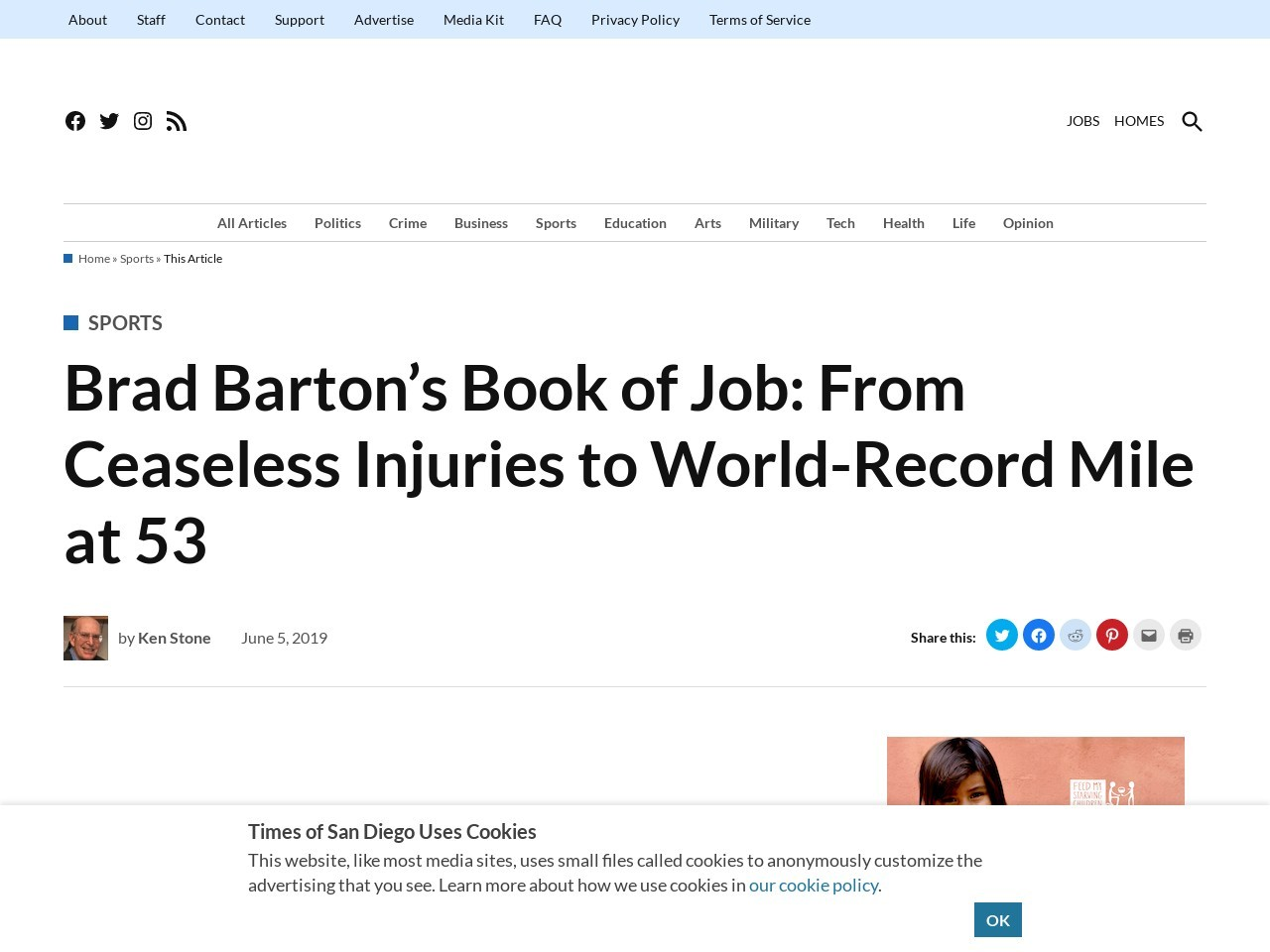 Brad Barton's Book of Job: From Ceaseless Injuries to World-Record…