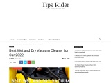 Best Wet and Dry Vacuum Cleaner for Car 2021
