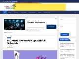 ICC T20 World Cup 2021 Full Schedule