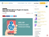 5 Best AMP WordPress Plugins for Speed, Search and Tracking