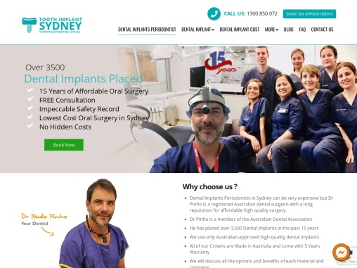 Digital Dental Implants in Sydney At the Best Fee Structure – Tooth Implant Sydney