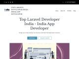 Top Laravel Developer India – India App Developer