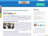 Hotel and Event Research Writing Services