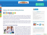 Online Life Science Writing Services