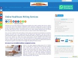 Online Healthcare Writing Services