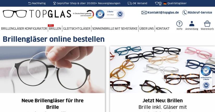 Topglas - Optiker 1