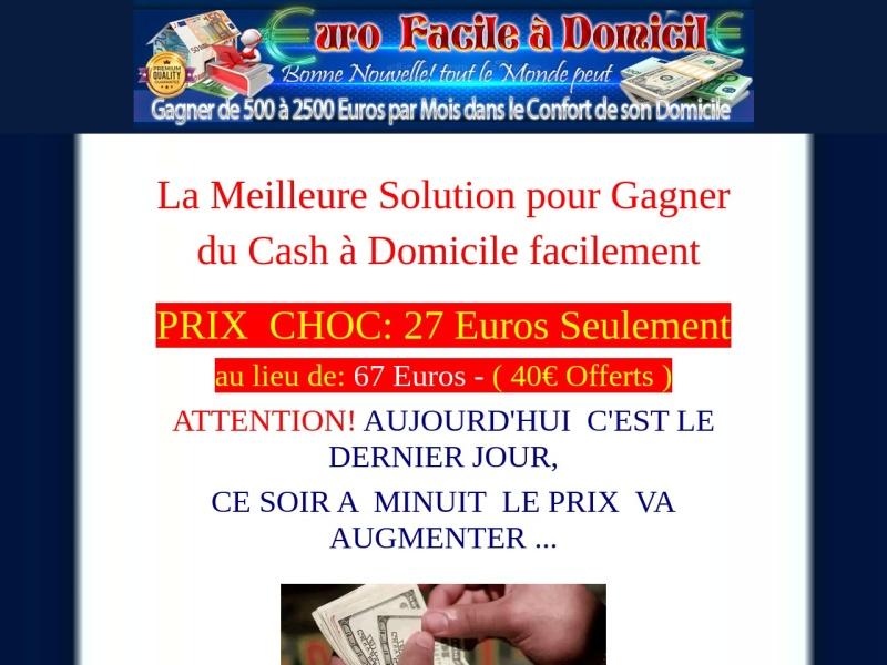 euro facile a domicile