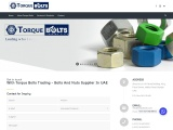 Torquebolts – Anchor Bolts Suppliers In UAE