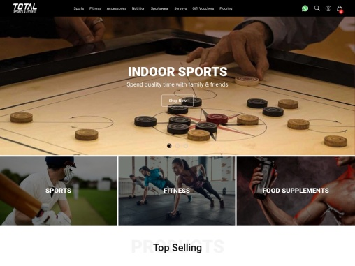#1 Sports & Fitness Equipment by Total SF