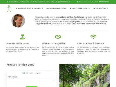 Alina ROBIN, Naturopathe holistique à Toulouse