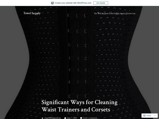 Significant Ways for Cleaning Waist Trainers and Corsets