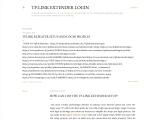 How can I do the TP-Link Extender Setup?