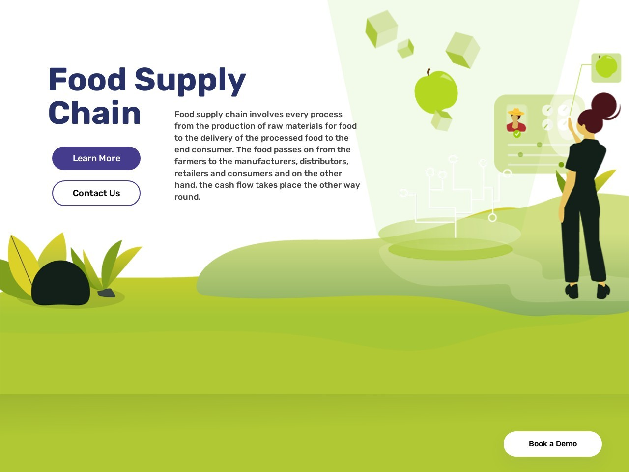 Blockchain – a quality control solution for vegetable sector.