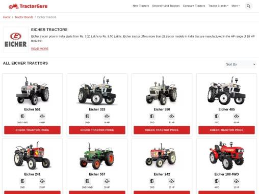 New Eicher Tractor-TractorGuru