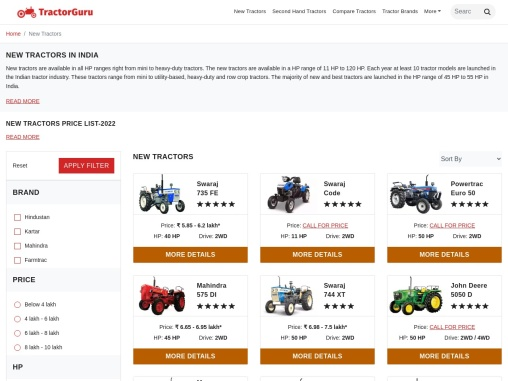 Best Agriculture Tractor in India