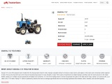 Swaraj 717 Tractor Price in India