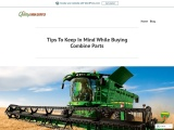 Tips To Keep In Mind While Buying Combine Parts