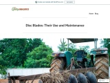 Disc Blades: Their Use and Maintenance