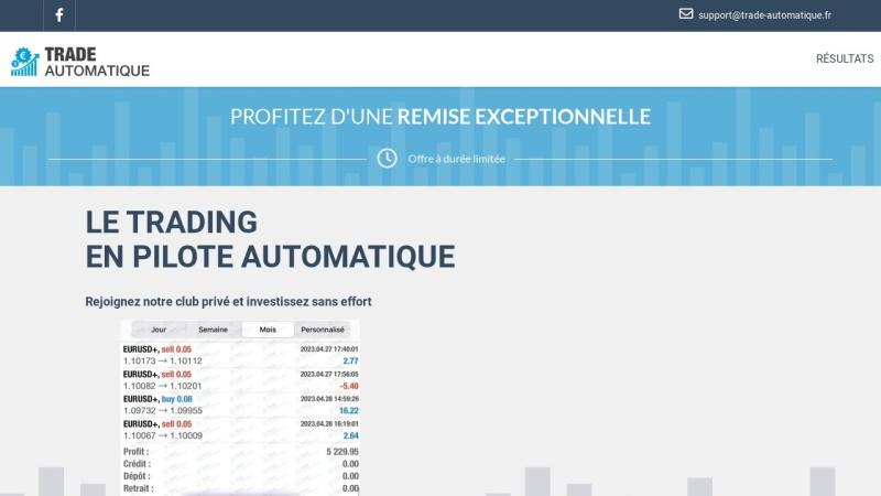 robot de trading automatique