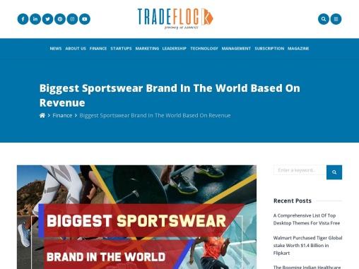 Biggest Sportswear Brand in the World