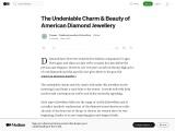 The beauty of American Diamond Jewellery