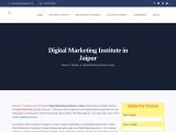 Best digital marketing training institute in jaipur