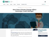 How Does Climate Change Affect Sovereign Credit Ratings?