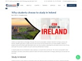 Why students choose to study in Ireland