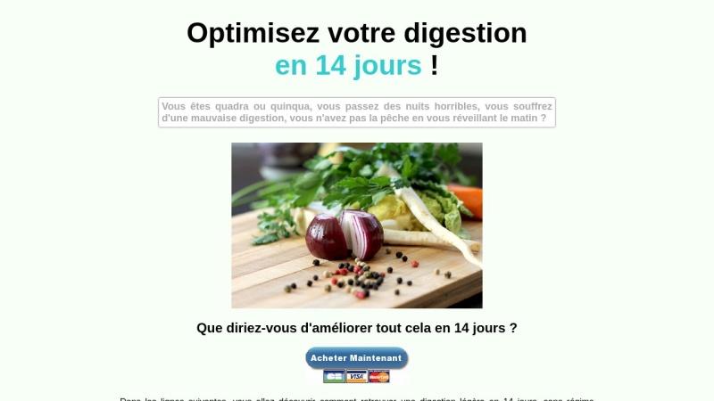 optimisez votre digestion en 14 jours
