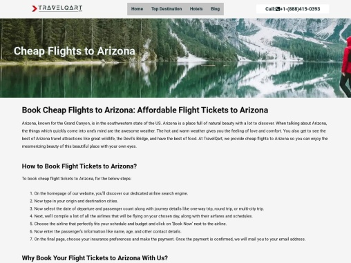 Book Cheap Flights to Arizona   Pay Less Expect More