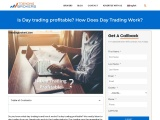 Is Day trading profitable? How Does Day Trading Work?