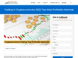 Trading in Cryptocurrencies 2021: Top Most Profitable Methods