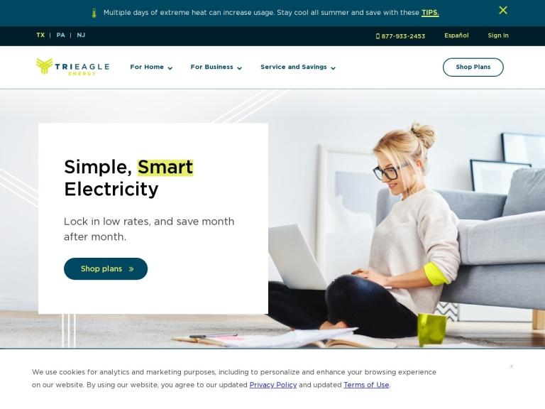 TriEagle Energy Coupon Codes screenshot